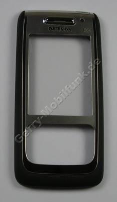 Oberschale schwarz Nokia E65 original A-Cover mit Displayscheibe