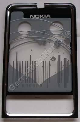 Oberschale schwarz Display Nokia 3250 original A-Cover mit Displayscheibe