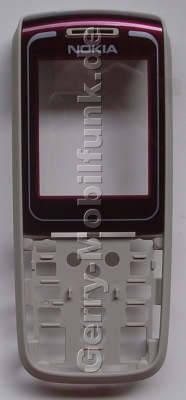 Oberschale rot Nokia 1650 original A-Cover mit Displayscheibe