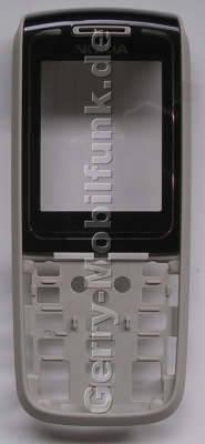 Oberschale schwarz Nokia 1650 original A-Cover mit Displayscheibe