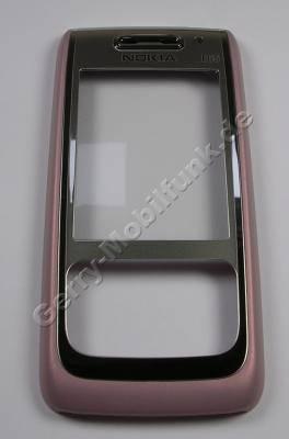 Oberschale pink Nokia E65 original A-Cover mit Displayscheibe
