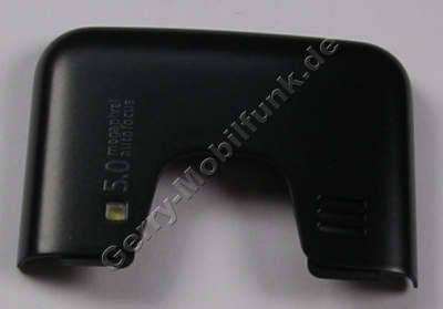 TopCover schwarz matt Nokia 6700 Classic original Abdeckung matt black mit Blitzlicht