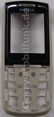 Oberschale dunkelblau Nokia 1650 original A-Cover darkblue mit Displayscheibe
