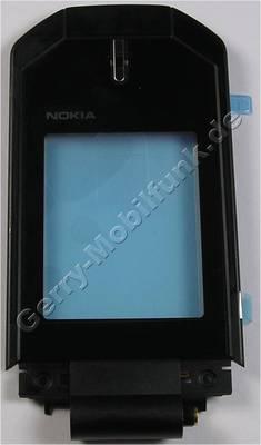 Oberschale Display schwarz Nokia 7070 Prism original B-Cover black