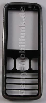 Oberschale grau Nokia 5630 Xpress Music original A-Cover grey monoch mit Displayscheibe