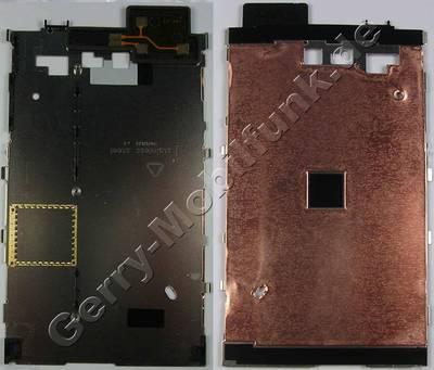 Ersatzdisplay - Display - Displayblech Nokia Lumia 820 original care display support, Trägerblech vom Displaymodul mit Kupferfolie, Displayträger