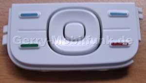Menü Tastenmatte Original Nokia 5300 weiss Tastatur Funktionstasten