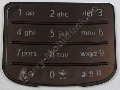 Tastenmatte bronze Nokia 6700 Classic original Telefon Tastatur