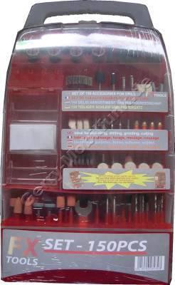 Mini-Bohrmaschinen Zubehörkoffer 60-teilig zum bohren, gravieren, polieren, schleifen, fräsen, reinigen, flexen,