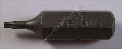 Torx 5 PLUS Bit-Einsatz 1/4 Zoll aus gehärtetem Werkzeugstahl für den professionellen Einsatz zum öffnen der Geräteschrauben bei Reparaturen und Display-Umbauten TX5 PLus