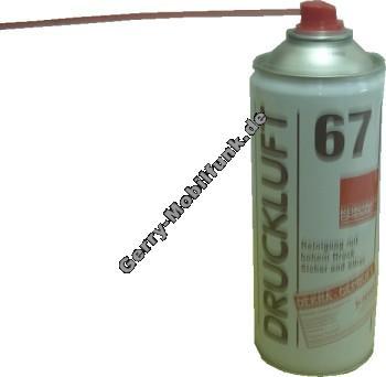 Druckluft 67 Kontakt Chemie 400ml-Dose zum reinigen mit hohem Druck
