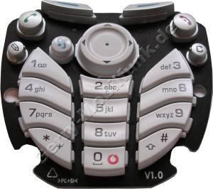nokia 3660 tastenmatte vodafone nokia 3660 original handy smartphone ersatzteil. Black Bedroom Furniture Sets. Home Design Ideas