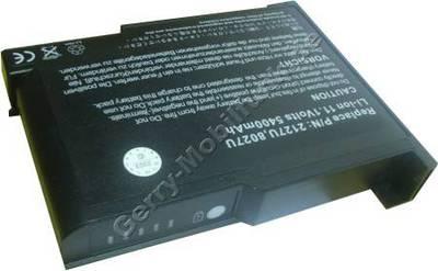 Notebook Akku für Compal N 38 W2, Li-ion, 11,1 Volt, 6600mAh, schwarz (138,5 x 108,8 x 22,3mm ca. 460g) Akku vom Markenhersteller