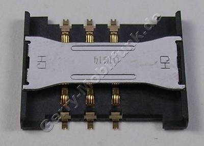 Simkartenleser Samsung GT C3060 Kartenleser, Sim Konnektor, Sim Card Reader