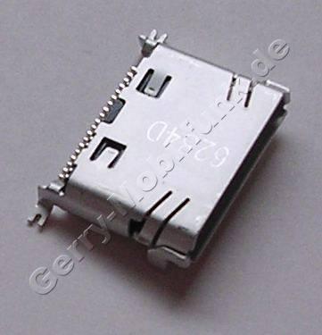 Externer Konnektor Samsung SGH-E570 original Ladeanschluß, Headsetanschluß, Datenkabelanschluß, Mini-USB-Buchse