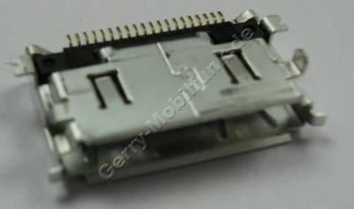 Externer Konnektor Samsung L170 original Ladeanschluß, Headsetanschluß, Datenkabelanschluß, Lade Buchse