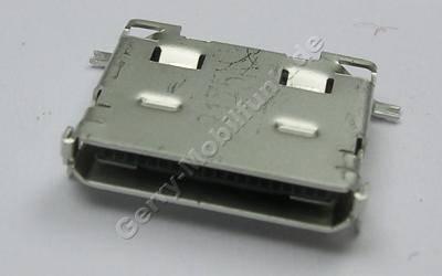 Externer Konnektor Samsung X830 Original Systemkonnektor, Ladeanschluß