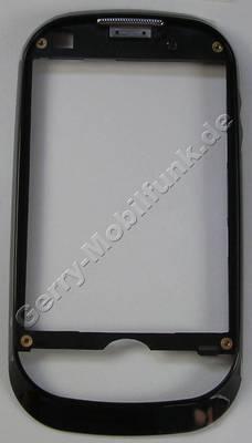 Oberschale schwarz Samsung GT B5310 Cover vom slide black