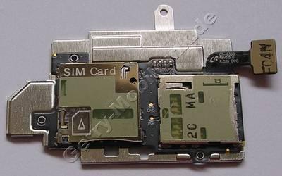 Simkarten, Speicherkartenleser Samsung i9300 Galaxy S3 Kartenlesermodul für Simkarte und Speicherkarte