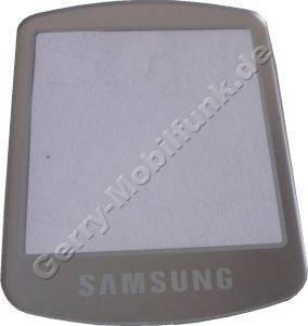 Displayscheibe Samsung Z105 großes Display, Displayfenster