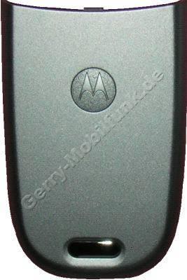 Akkufachdeckel Motorola V220 silber original