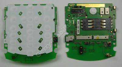 Tastaturplatine Motorola L6 Tastaturmodul, Tastaturboard, Platine voll bestück, Simkartenleser