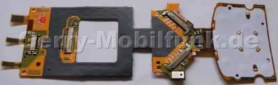 Tastaturfolie Menütasten SonyEricsson W900i Dome Sheet, Flexfolie kleine Tastatur, Tastaturmodul mit Mikrofon und Display Konnektor