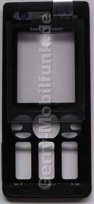 Oberschale schwarz SonyEricsson W880i original Cover mit Displayscheibe