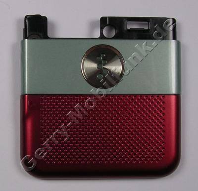 Antennencover rot SonyEricsson W760i original Abdeckung der Antenne, hinteres Cover oben red