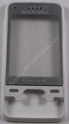 Oberschale wei� mit Displayscheibe SonyEricsson C903i Cover