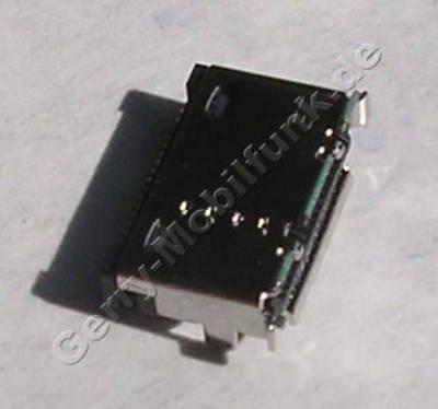 Externer Konnektor LG KF300 original Ladebuchse, Systemanschluß, Buchse zum Anschluß des Ladekabels, Datenkabelanschluß, 19 PIN Lötbuchse