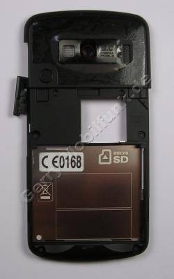 Unterschale LG KF600 Gehäuserahmen, Antennencover, Gehäuseträger mit Freisprechlautsprecher, Kamerascheibe, Abdeckung Ladeanschluß