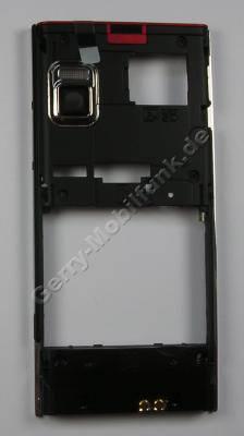 Gehäuserahen, Unterschale LG BL20 original Back Cover mit Lautstärketasten und Lautstärkeschalter