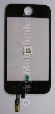 Displayscheibe, Touchpanel Apple iPhone 3G Displayfenster, Eingabescheibe
