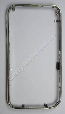 Cover Front Rahmen Apple iPhone 3G, vorderer Geh�userahmen um das Display, Chromrahmen Oberschale