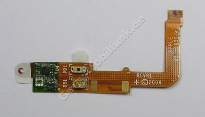Flexkabel Apple iPhone 3G Flex best�ck, Anschlu�kabel vom Ohrlautsprecher mit Sensoren ( Bewegungssensor zur Display Abschaltung beim telefonieren )