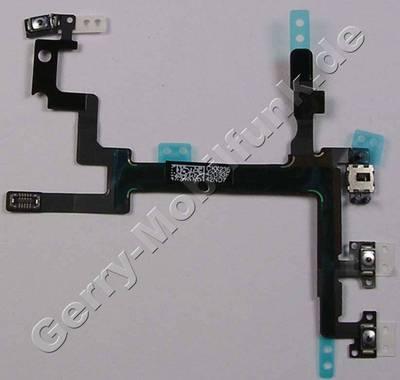 iphone 5 handy smartphone ersatzteil flexkabel seitentasten apple iphone 5 flachbandkabel mit. Black Bedroom Furniture Sets. Home Design Ideas
