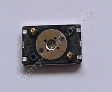 Lautsprecher original Nokia 6110 Navigator, Hörkapsel für die normale Gesprächsübertragung ( sitzt im Displayrahmen ) kleiner rechteckiger Lautsprecher