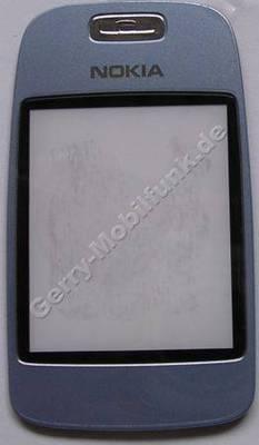 Displayscheibe Nokia 6103 blau, originales Displayfenster vom großen Display