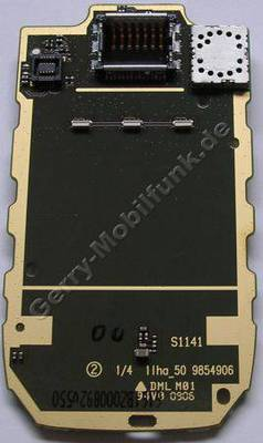 Displayplatine Nokia 6103 Platine vom Display mit Disply-Konnektor