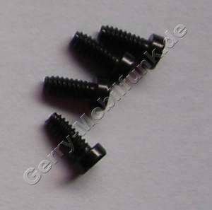 4 Stück Schrauben 1,4 x 3,2mm Nokia 6500 Classic original Schraubenset vom Rahmen unter dem Display