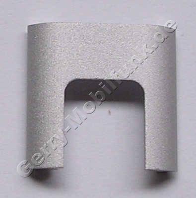 Linke Abdeckung Aluminium Tastaturblock Nokia 3250 original
