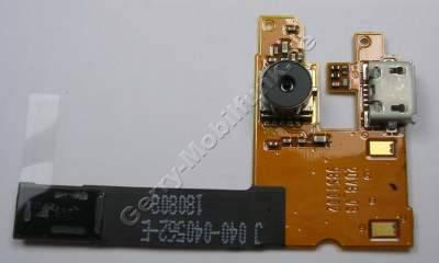 Kameramodul Nokia 6500 Classic original Kamera mit Flexkabel und Ladebuchse ( mini USB ) Systemkonnektor