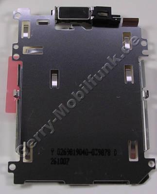 Halteplatte Display Nokia 7900 Prism original Halter vom LCD mit Lautsprecher