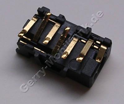 AV Konnektor 4polig Nokia 6260 Slide original Headset Konnektor