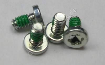 4 Stück Schrauben 1,6x3,0mm Nokia 7230 original Schraubenset Torx TX6+ ( IP6 )
