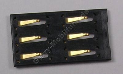 SIM Kartenleser Nokia 3720 Classic original SMD Konnektor der Simkarte SMD Lötbauteil