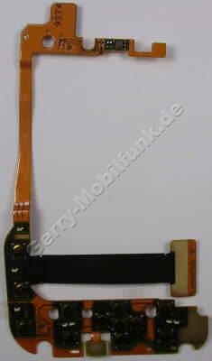 Tastaturmodul Menütasten Nokia 6760 slide original Flexkabel mit Menütastenmodul, Tastaturflex, Mikrofon