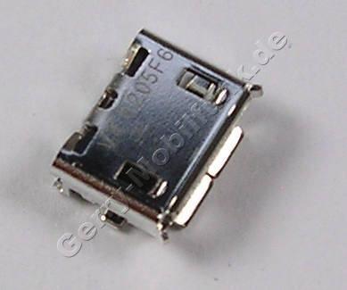 USB Konnektor 5polig Nokia 515 original Anschlußbuchse Datenkabel, MICRO-USB B TYPE P0.65, Ladebuchse