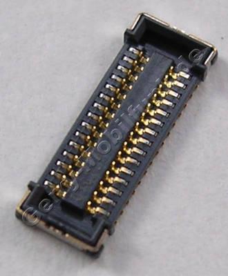 Board to Board Konnektor Nokia Lumia 820 original SMD Konnektor der Hauptplatine (CONN BTB 2*15 F P0.4 30V 0.3A H0.8mm)